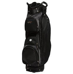 gloveit black mesh cart golf bag