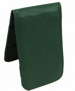 Green Scorecard Yardage Book Holder