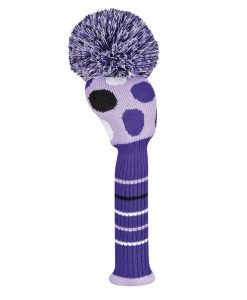 Large Multi Dot Purple Driver Golf Headcover
