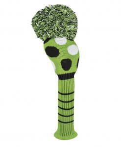 Lime Multi Dot Driver Golf Headcover