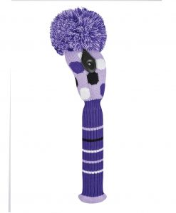 Medium Dot Purple Fairway Golf Headcover
