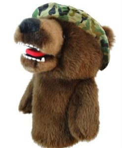 Military Bear Golf Headcover