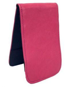 Pink Scorecard Yardage Book Holder