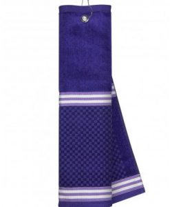 Purple Towel with Ribbon