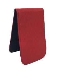 Red Scorecard Yardage Book Holder