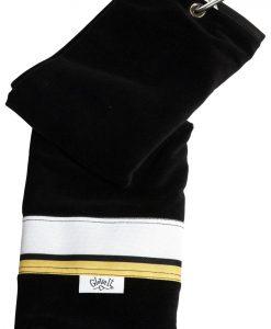 gloveit cabana stripe golf towel