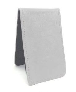 White Scorecard Yardage Book Holder
