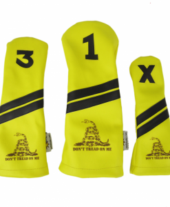 Gadsden Flag Golf Headcovers Set