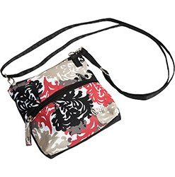 gloveit coral reef 2 zip carry all bag