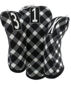 bow tie plaid golf headcovers