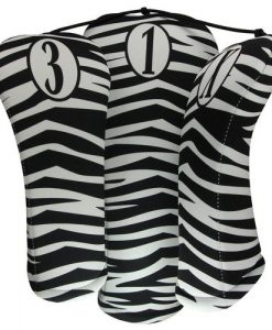 zebra golf headcovers