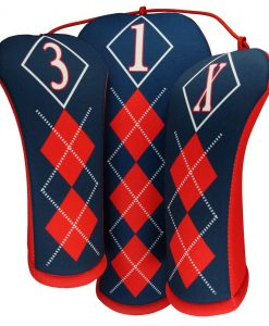 classic argyle golf headcovers