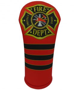 beejo's fire department driver golf headcover