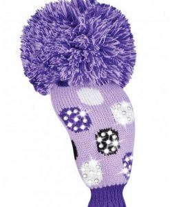 Sparkle Medium Multi Dot Purple Fairway Golf Headcover Sparkle Medium Multi Dot Purple Fairway Golf Headcover.