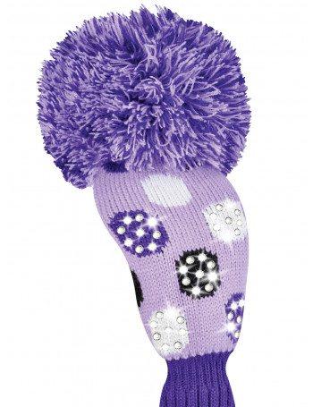 Sparkle Medium Multi Dot Purple Fairway Golf Headcover Sparkle Medium Multi Dot Purple Fairway Golf Headcover.