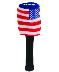 USA Flag Golf Headcover