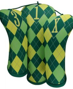 beejos lemon quench argyle golf headcovers