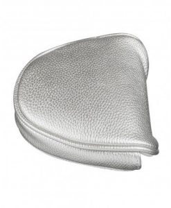 metallic silver mallet putter headcover