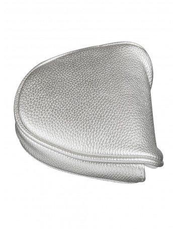 metallic silver mallet putter headcover