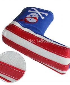 usa skull golf putter cover