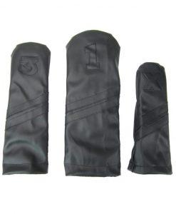 Black & Black Golf Headcover Set