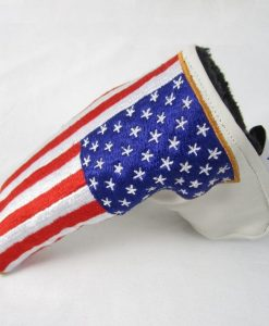 Team America Leather Blade Putter Cover