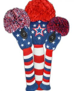 All American Golf Headcover Set