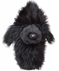 Black Poodle Hybrid Golf Headcover