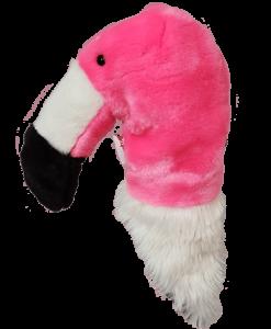 Flamingo Hybrid Golf Headcover