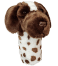 German Short Haired Pointer Driver Golf Headcover