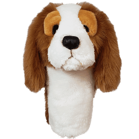 King Charles Spaniel Driver Golf Headcover