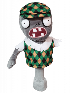 Zombie driver golf headcover