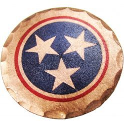Tennessee Tri-Star State Flag Ball Marker