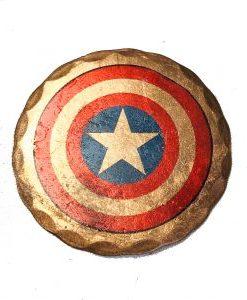 Captain America Ball Marker