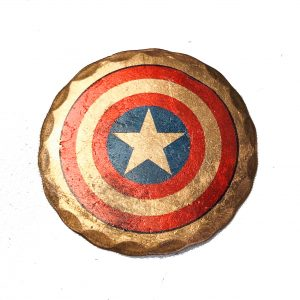 Captain America Ball Marker