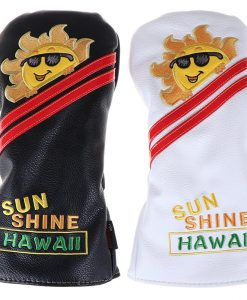 White Sunshine Golf Headcover